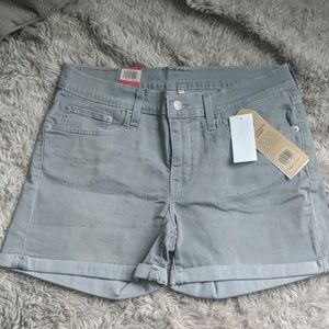 Levis light gray vintage soft shorts - NWT